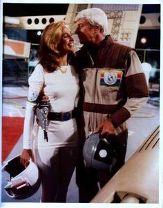 Peter Graves and Erin Gray in Buck Rogers in the  25th Century