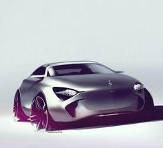 """converge-diverge: """"Hussein ALATTAR - How not to design a Mercedes http://husseinalattar.tumblr.com/ """""""