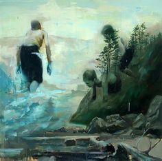 Joshua Flint - oil painting