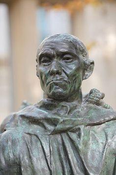Auguste Rodin, Les Bourgeois de Calais, Jean d'Aire, detail
