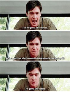My favorite quote from this movie Movie: Ferris beullers day off 90s Movies, Great Movies, Farris Buellers Day Off, Movies Showing, Movies And Tv Shows, Ferris Bueller, Fictional World, Movie Lines, Chicago