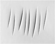 Lucio Fontana, Spatial Concept - Expectation