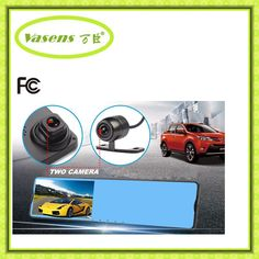 73.00$  Buy now - http://alieag.worldwells.pw/go.php?t=32768020851 - Newest Car Camera Dvr Blue Review Mirror Digital Video Recorder Auto Camcorder Full HD 1080P WIFI recorder 168P