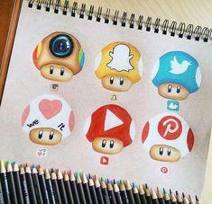 Картинки по запросу drawing social media