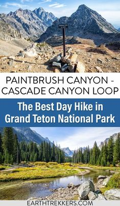 The Paintbrush Canyon to Cascade Canyon Loop is one of the best hikes in Grand Teton National Park. Stand on Paintbrush Divide, visit Lake Solitude, Inspiration Point, Hidden Falls, and Jenny Lake. Here's how to do it. #grandteton #nationalpark #dayhikes #hiking