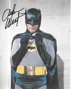 Adam West Signed In Person at our Hollywoodshow April 28th 2017 8x10  Batman!! - fdec62b34b211