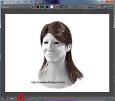 Maya Zest: Creating realistic hair with V-ray for Maya Part 2