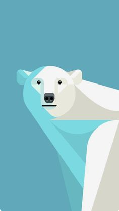 Mobile wallpaper android graphic prints Ideas for 2019 Polar Bear Wallpaper, Cartoon Wallpaper, Tachisme, Graphic Design Illustration, Illustration Art, Polar Bear Illustration, Illustrations, Graphic Prints, Graphic Art