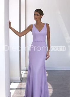 A-Line/Princess  V-Neck Floor-Length Satin Bridesmaid  dress for  brides  2014 Style(BD0022)