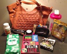 So, what's in your vegan handbag? Vegan product picks.