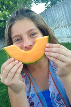 Juicy California Cantaloupe  @calcantaloupes