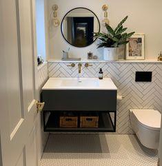 Ada Bathroom, Condo Bathroom, Bathroom Floor Tiles, Bathroom Vanity Units, Bathroom Ideas, Small White Bathrooms, Bathroom Design Small, Bathroom Interior Design, Small Bathroom Plans