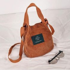 dd9bac87ddc8 2018 Designer handbags high quality Women Bag Vintage Corduroy Shoulder Bags  Ne  fashion  clothing