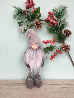 *Christmas Gnomes, Nordic Gnome, Christmas Gift, Scandinavian Gnome, Nordic Christmas Decor, Santa Gnome, Tomte* Meet the funny gnomes! They are very fond of Christmas and will always brighten your Christmas mood. They are always fun. A magical gnome who holds powers that will protect you