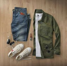 Stylish Overshirt Grid by @thepacman82   Follow  @stylishgridgame    Brands ⤵ Shirt: @corridornyc T-Shirt: @nonationality07 Jeans: @shockoe_atelier Shoes: @converse × @commedesgarcons Watch: @hamiltonwatch Sunglasses: @oliverpeoples
