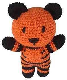 Roary the Tiger - Crochet Pattern