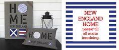 New England Home passar till all marin inredning.