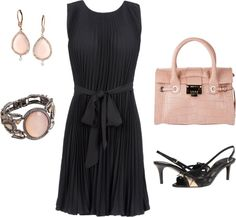 """Belted Dress"" by terrynoyd ❤ liked on Polyvore"