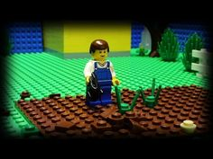 Lego Gardening - YouTube