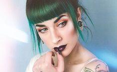 Green Hair Dye, Mint Hair, Emerald Hair, Arctic Fox Hair Color, Permanent Hair Dye, Free Hair, Free Coloring, Cruelty Free, Bangs