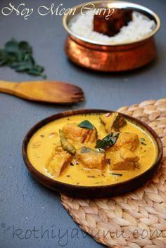 Kothiyavunu.com: Ney Meen Curry /Seer Fish Curry