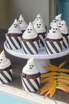 Don't miss this scary Halloween party! The party decorations are wonderful! See more party ideas and share yours at CatchMyparty.com #catchmyparty #partyideas #halloween #halloweenparty #halloweenpartydecorations Halloween Party Favors, Halloween Photos, Halloween Food For Party, Halloween Desserts, Halloween Cupcakes, Halloween Activities, Family Halloween, Halloween Treats, Scary Halloween