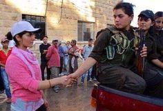Viviamo, impariamo e combattiamo. Le donne di Kobane sul fronte delle contraddizioni | ∫connessioni