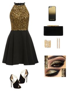 """🏅"" by heyitskels ❤ liked on Polyvore featuring Jimmy Choo, MICHAEL Michael Kors, Sole Society and Charlotte Chesnais"