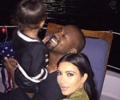 Kim Kardashian Shares More Fourth of July