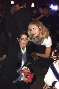 Nasiba Adilova and Leandra Medine at the Chanel Pre-Fall 2014 after party