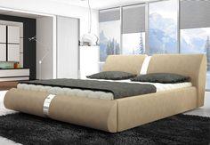 Łóżko tapicerowane Arte z pojemnikiem  http://sagameble-sklep.pl/wersal-zima-2015/9793-promocja-lozko-tapicerowane-arte.html