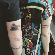 Pink Floyd Dark Side of the Moon Tattoo by Elton Mapelli - Estudio Royal Tattoo