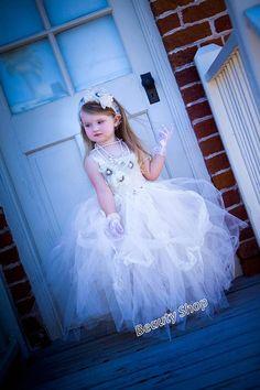 bride flower girl TuTu dress baby TuTu perfect for by bbabyangel, $69.99
