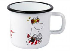 Muurla Moominmamma Moomin Retro Enamel Mug - Trouva Helsinki, Tove Jansson, Sweet Little Things, Nordic Style, Food Containers, Outdoor Life, Retro, Simple Designs, Interior Decorating