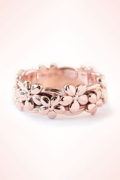 Hawaiian Unique Wedding Ring Rose Gold LOVE !