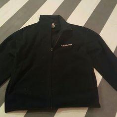 Chaps Large Navy Blue Fleece Jacket