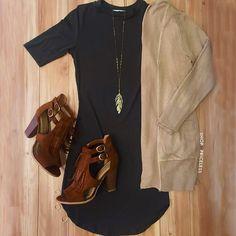 Lenora Dress - Olive