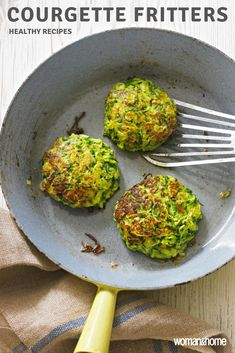 Courgette Fritters If you re looking for a healthy light supper or an impressive dinner party starter then this courgette recipe is perfect healthyrecipes starterrrecipes lightdinnerrecipes Vegetable Dishes, Vegetable Recipes, Vegetarian Recipes, Cooking Recipes, Healthy Recipes, Courgette Recipe Healthy, Healthy Food, Dinner Party Starters, Dinner Party Recipes