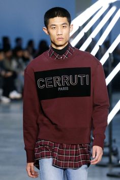 Cerruti 1881, Autunno/Inverno 2018, Parigi, Menswear