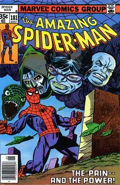 "Amazing Spider-Man vol.1 # 181, ""Flashback!"" (June, 1978). Cover by  Gil Kane."