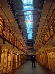 Alcatraz Prison is now a tourist attraction in San Francisco CA