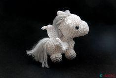 Addition to tiny unicorn pattern - Pegasus wings pattern