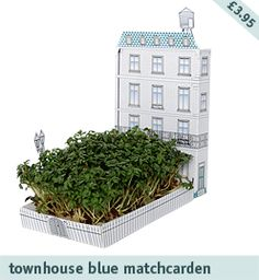its a post card with a little garden kit built in