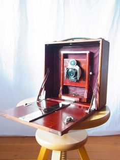 camera / folding camera / antique camera / by thespectaclednewt