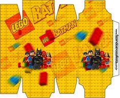 Caixa Sabonete Batman Lego Super Heroes: