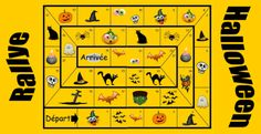 Un grand jeu pour 2 à 18 enfants sur le thème de Halloween !!!