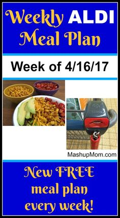 Here's your easy weekly ALDI meal plan for the week of 4/16/17: Pick up everything on the shopping list below, then start cooking on Sunday. *** Subscribe to the weekly ALDI meal plans here *** Hope you find these useful! A quick aside… Guess what… I wrote a book! If you enjoy these meal plans and ALDI savings, or if you ran across this week's meal plan because you're newer to ALDI, you might also enjoy Almost All ALDI: Shopping and Meal Planning  {Read More}