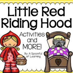 Little Red Riding Hood Activities