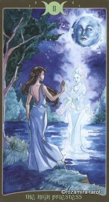 High Priestess: The Book of Shadows Tarot Volume 2 so Below
