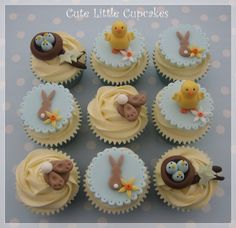 Easter cuteness rolled up in a cupcake!